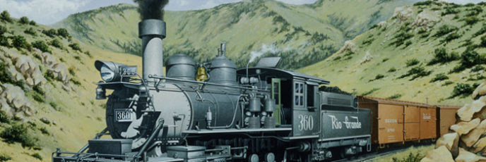 C-21 Steam Locomotive