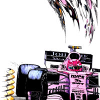 Pretty in Pink - Sahara Force India