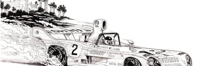 LeMans 1974 Race Car